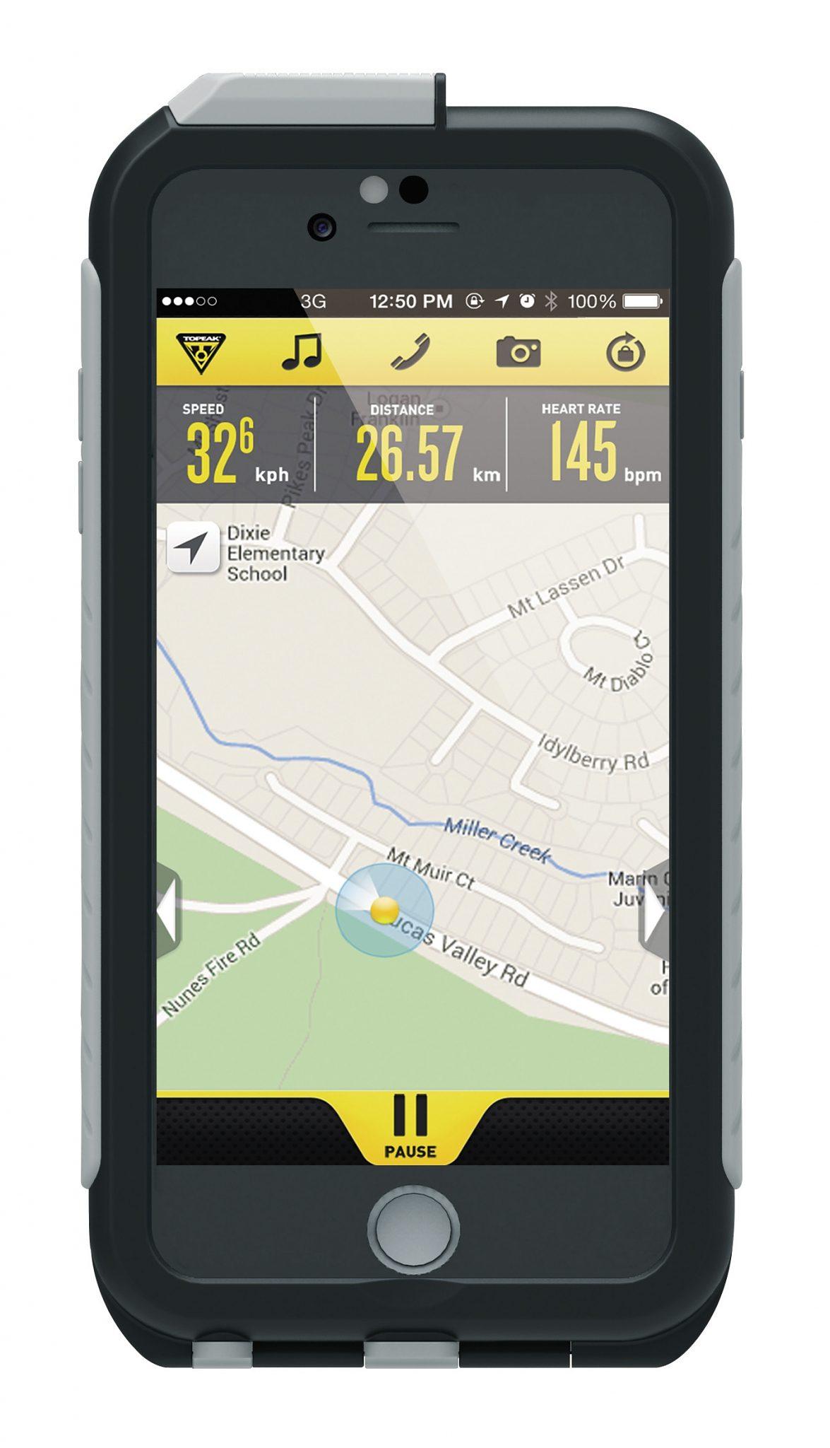 Topeak Fitnesstracker »Topeak Weatherproof RideCase iPhone 6 Plus o.«
