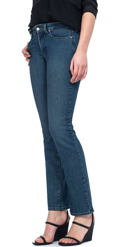 NYDJ Marilyn Straight »aus premium denim« in Louisiana Wash