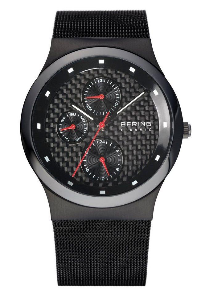 Bering Multifunktionsuhr »32139-309« mit Keramiklünette in schwarz