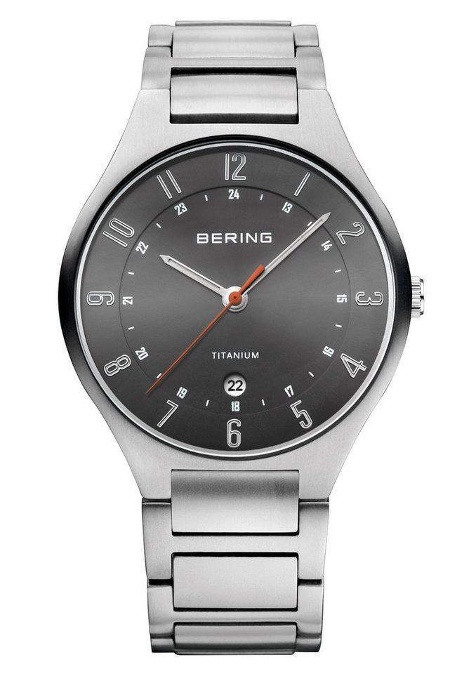 "Bering, Armbanduhr, ""11739-772"" in silberfarben"