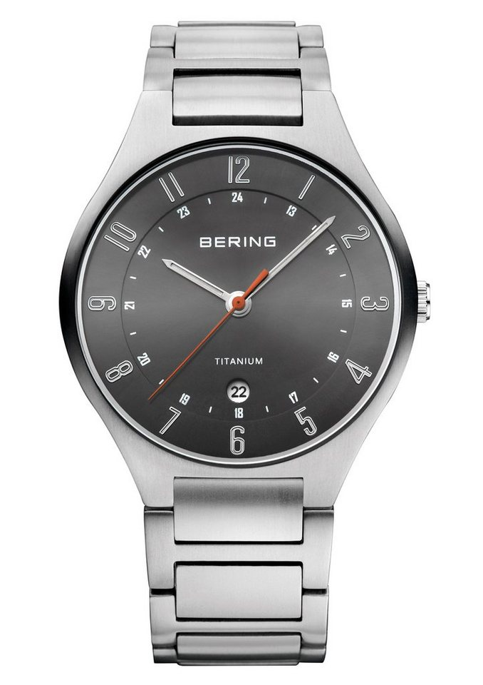 Bering Titanuhr »11739-772« in grau