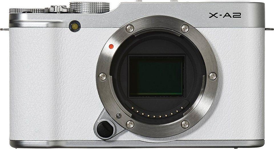 FUJIFILM X-A2 Kit System Kamera, FUJINON XC16-50mm F3.5-5.6 OIS II Zoom, 16,3 Megapixel in weiß