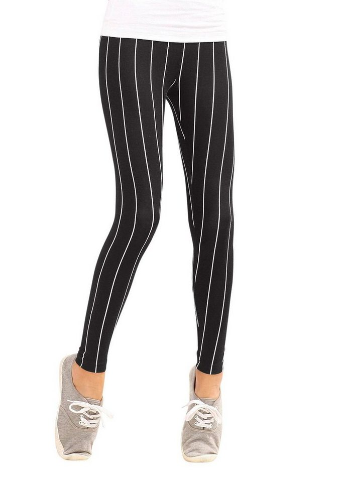 Arizona Leggings in schwarz-weiß