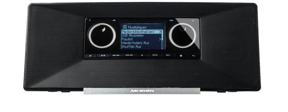 MEDION® WLAN Internet Radio mit DAB+ »LIFE® P85035 (MD 87090)«