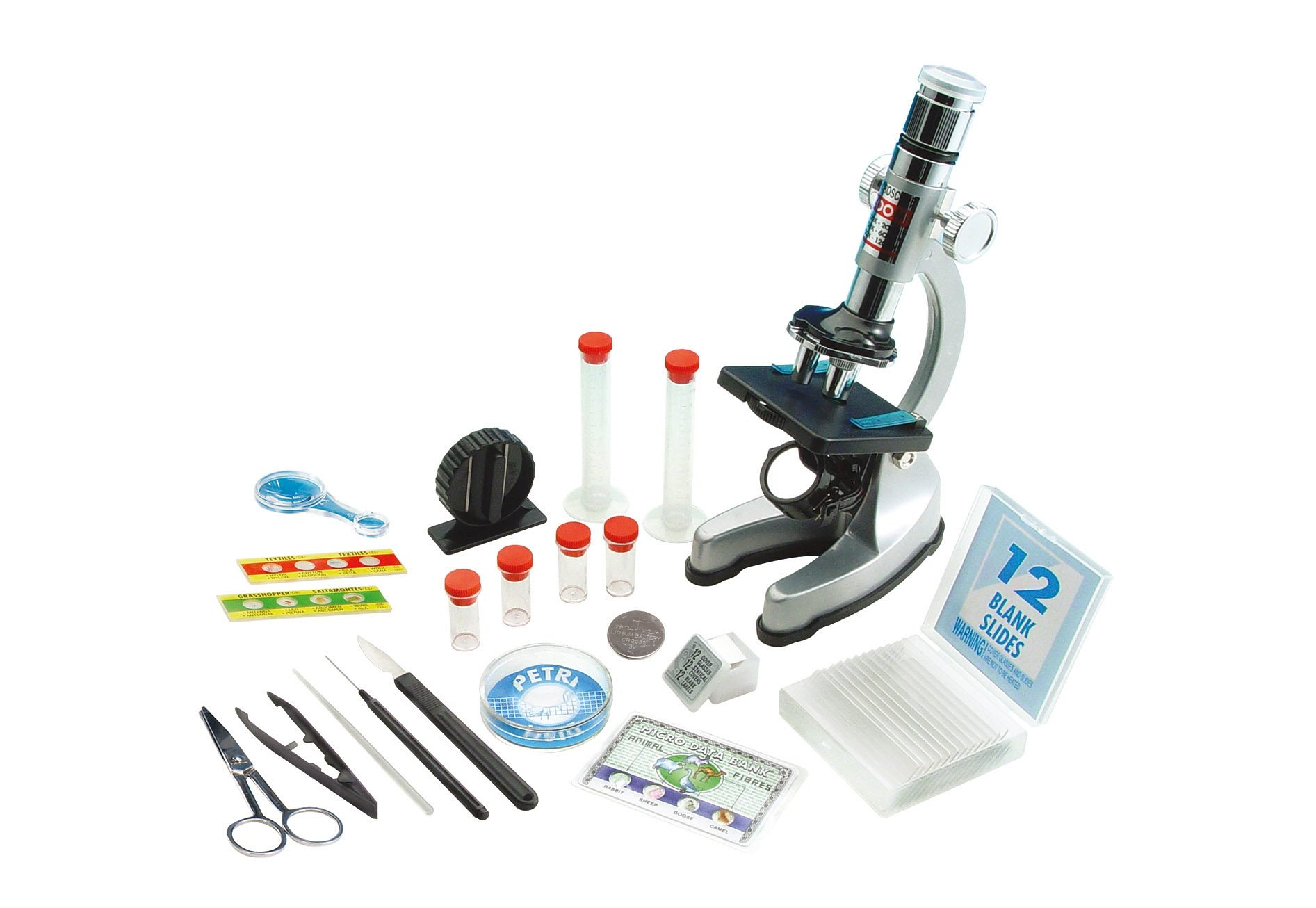 Mikroskop-Set im Tragekoffer, EDU-TOYS®