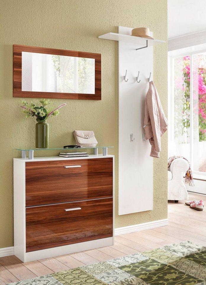 Garderobenpaneel »Lathi« in weiß