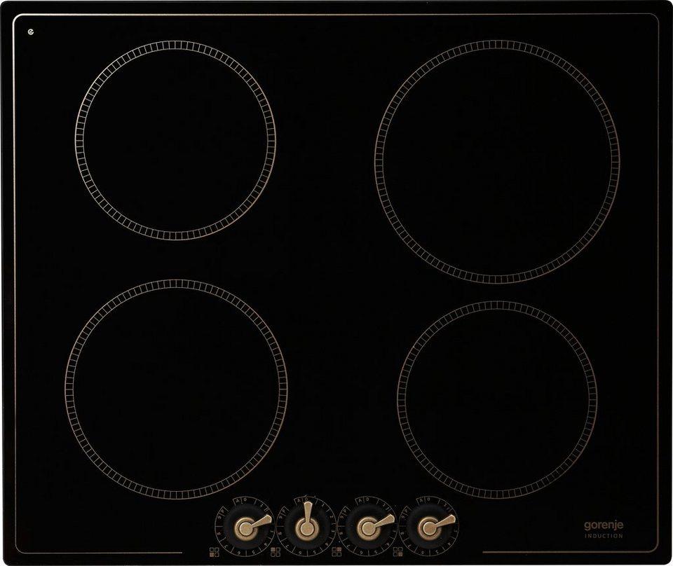 Gorenje Classico Induktions-Kochfeld IC634CLB in schwarz
