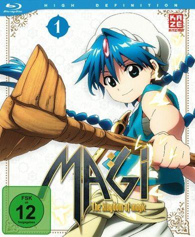 Blu-ray »Magi: The Kingdom of Magic Staffel 2, Box 1«