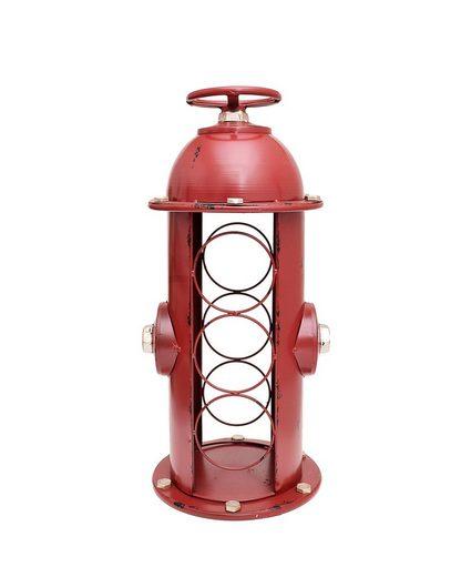 HTI-Line Weinregal »Flaschenregal Hydrant«, Für alle gängigen Flaschentypen