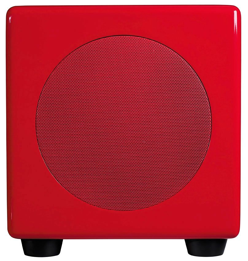 Podspeakers Scandyna Subwoofer »MicroPod Sub« in rot