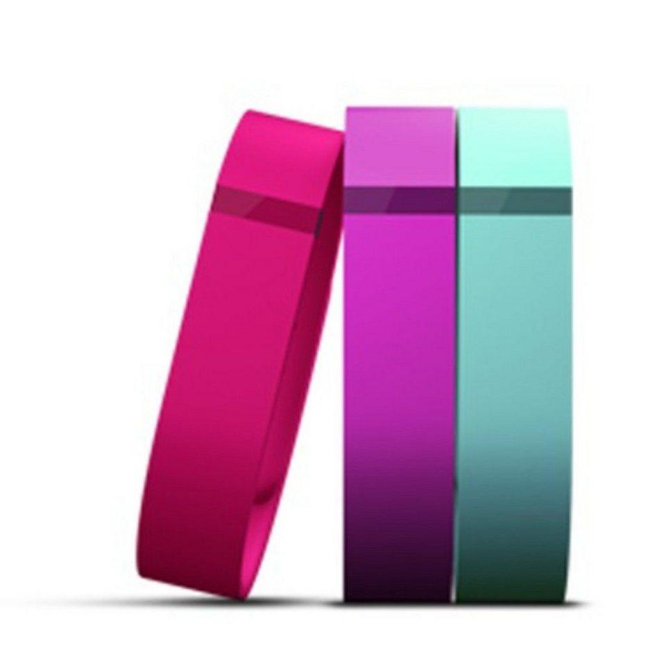 fitbit Austauschbänder »FLEX Accessory Pack L (violett, türkis, pink)« in Violett