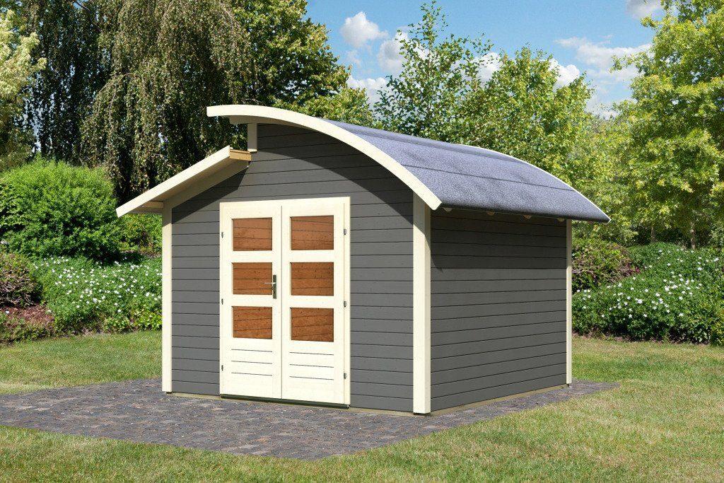 Karibu Gartenhaus »Almelo«, BxT: 304x304 cm