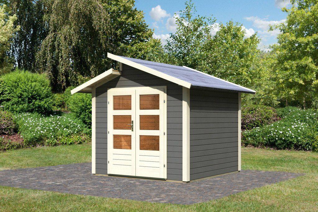 Karibu Gartenhaus »Grönelo«, BxT: 244x244 cm