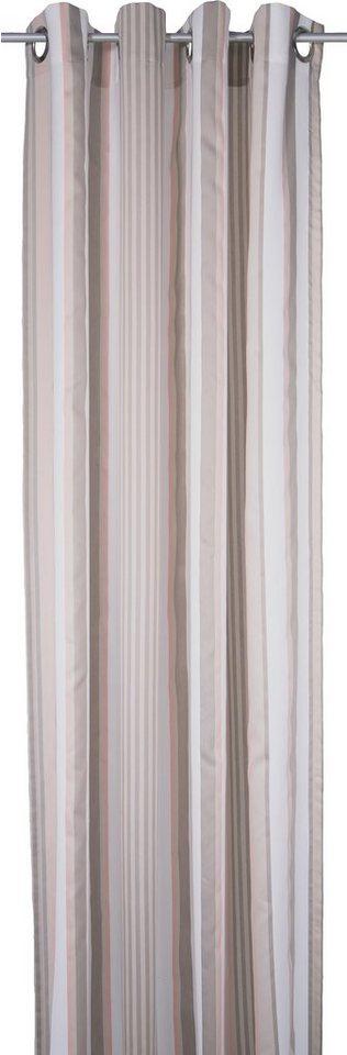 Vorhang, Tom Tailor, »Pastel Stripes« (1 Stück) in beige/rosa