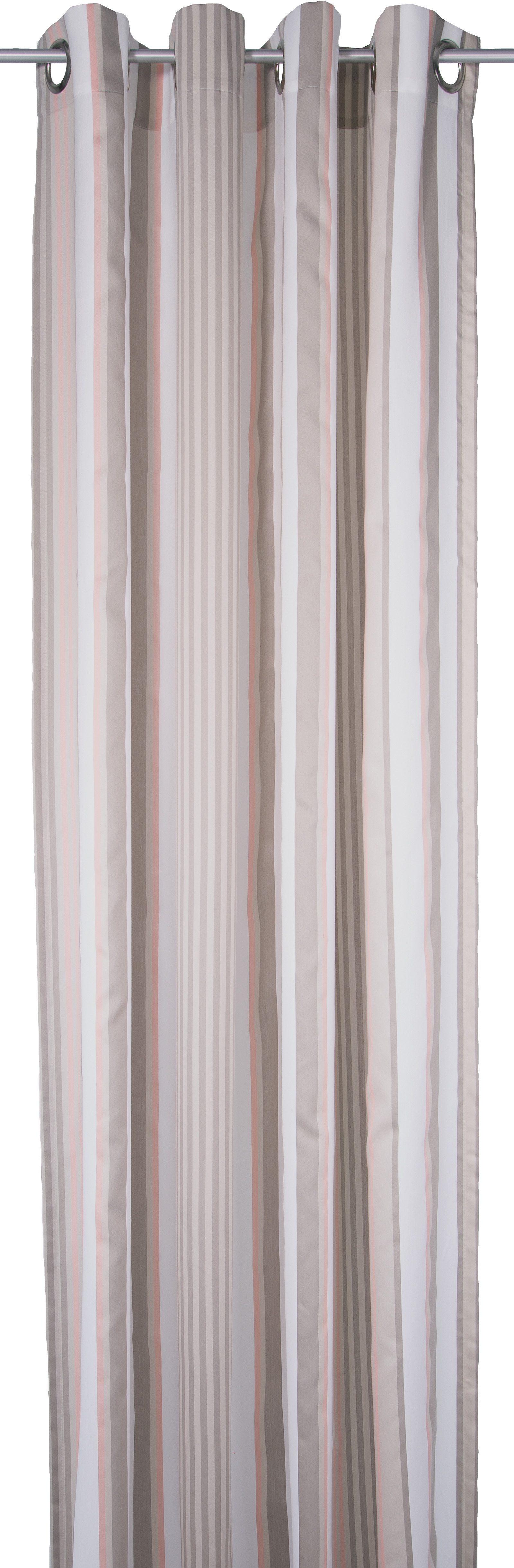 Vorhang, Tom Tailor, »Pastel Stripes«, mit Ösen (1 Stück)