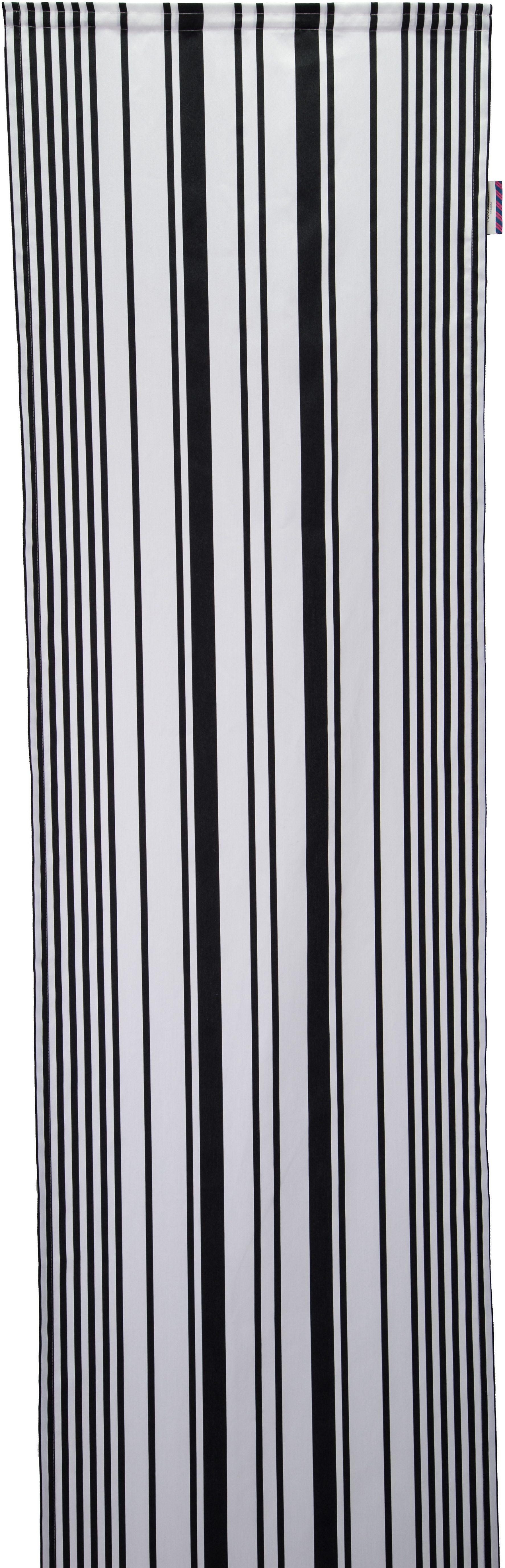 Schiebegardine, Tom Tailor, »Graphic Stripes«, mit Klettband (1 Stück ohne Zubehör)