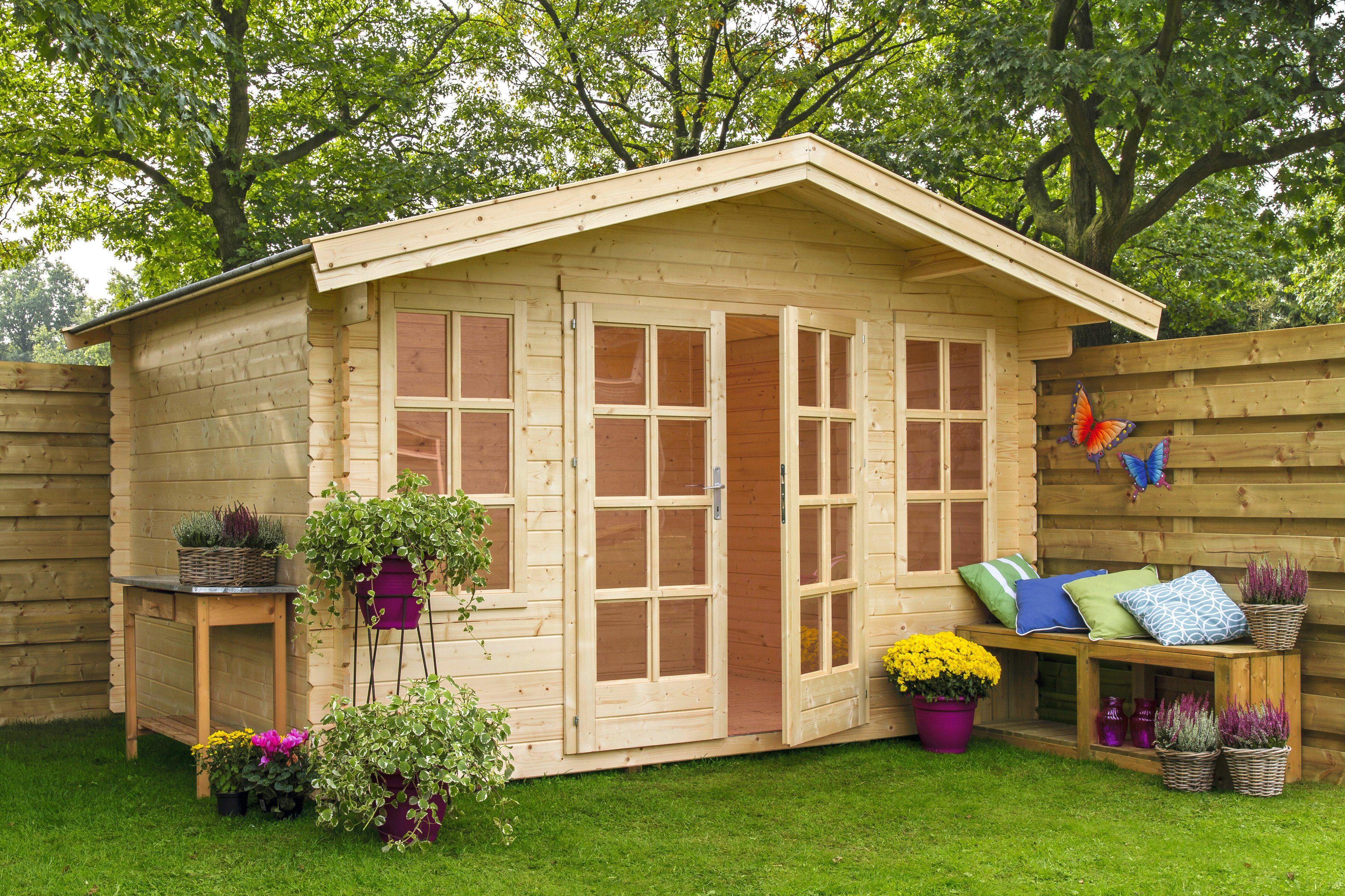 OUTDOOR LIFE PRODUCTS Gartenhaus »Kalmar 2«, BxT: 340x340 cm, 22 mm