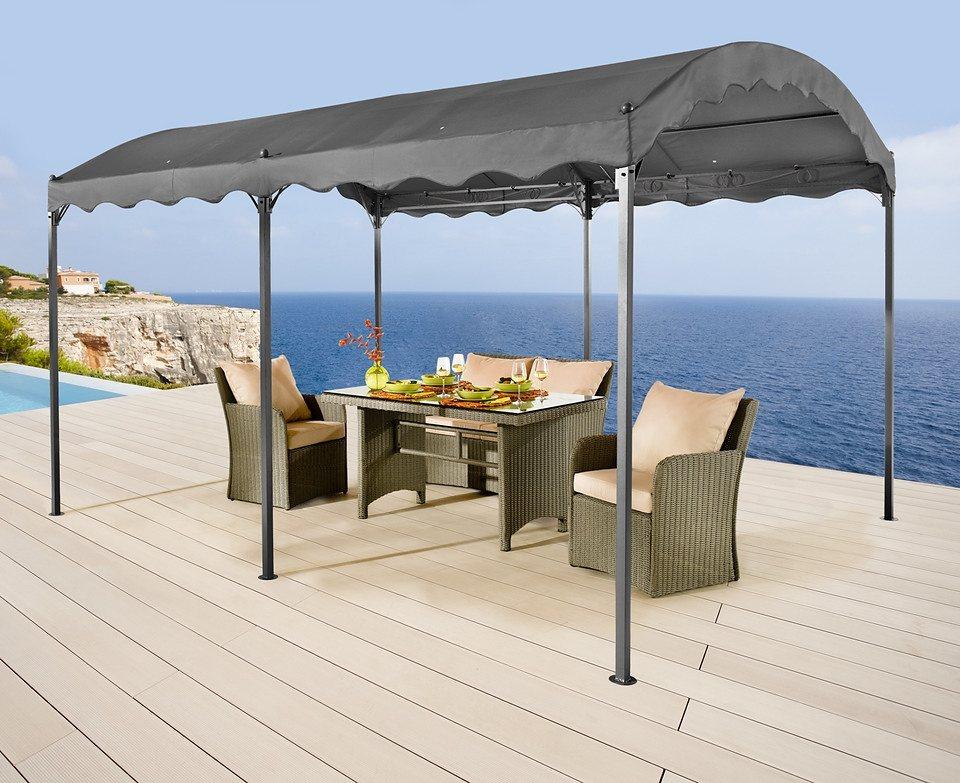 Seitenteile für Terrassendächer »Bodenpergola«