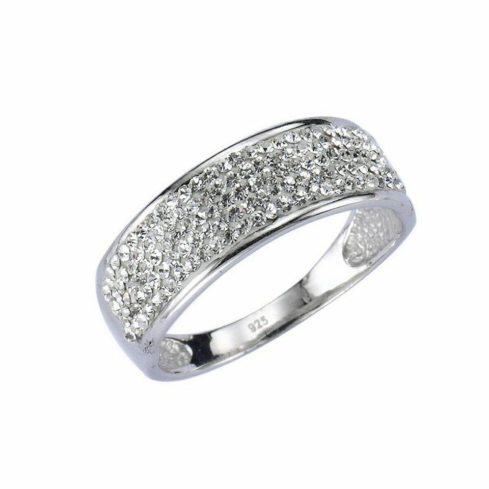 crystelle ring 925 sterling silber swarovski kristalle online kaufen otto. Black Bedroom Furniture Sets. Home Design Ideas