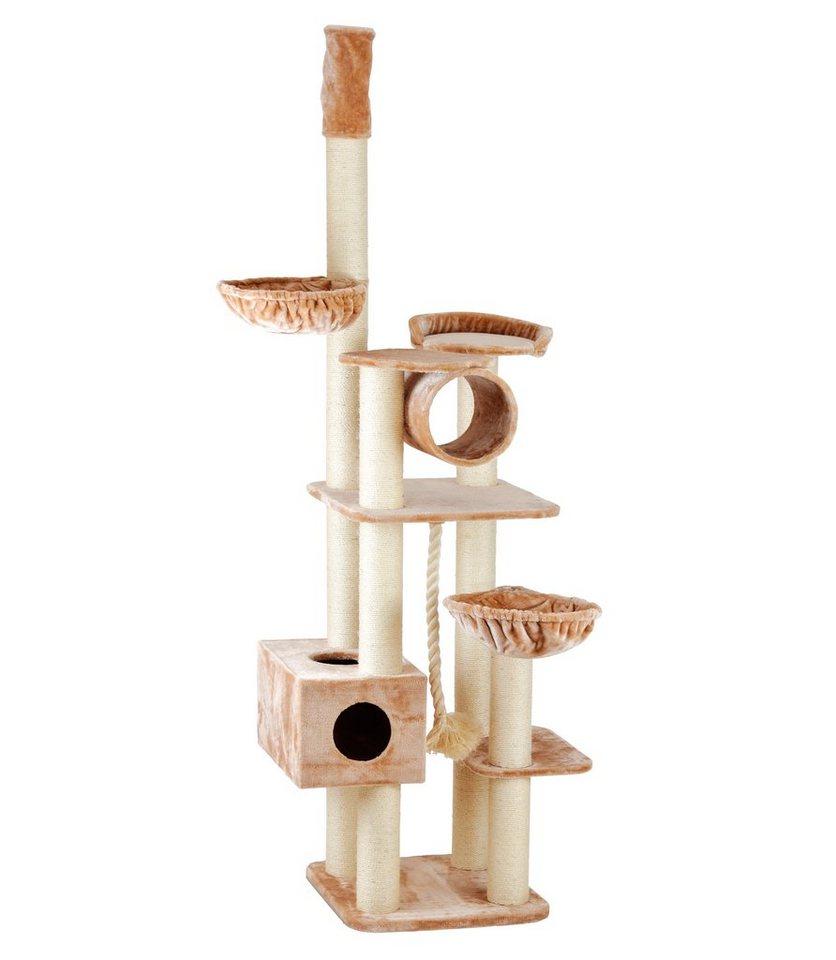 silvio design kratzbaum »abigal«, lxbxh: 60x120x240-260 cm online