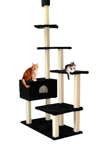 SILVIO DESIGN Kačių stovas su draskyklė »Big House«