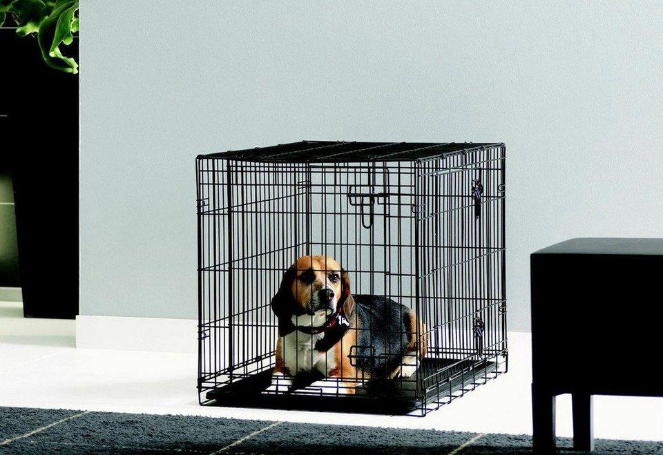 Hundezwinger »Hundekäfig-Dog Cottage« in schwarz