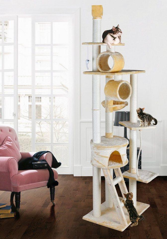 Kratzbaum-Deckenspanner »Mikesch« in beige