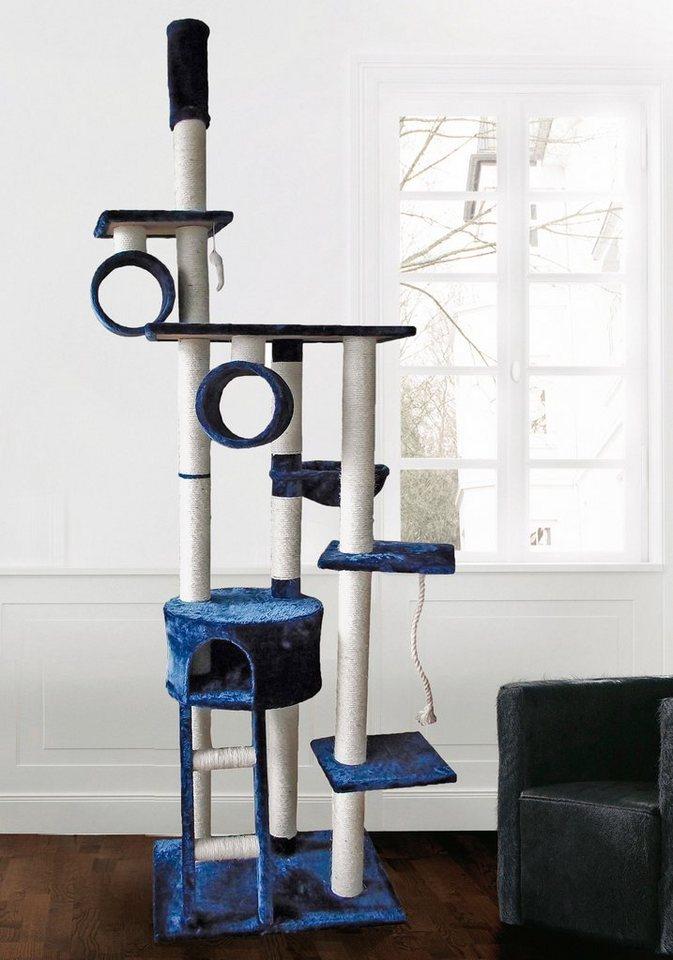 Design Kratzbaum Aus Holz Und Wellpappe: Silvio Design Kratzbaum-Deckenspanner »Mikesch