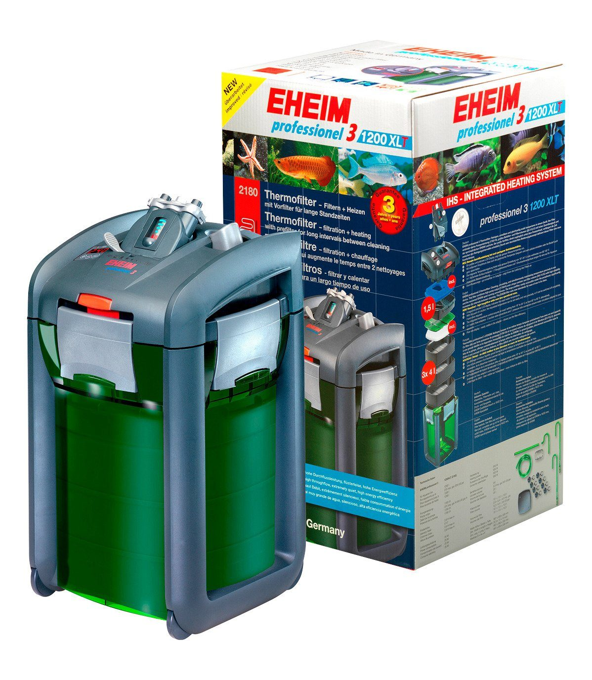 Aquarienfilter »EHEIM Thermofilter Professionel 3 1200XLT««