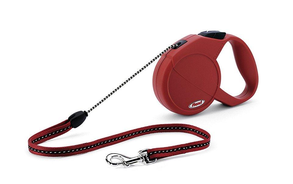 Hundeleine »Flexi New Classic Gr. M« in rot