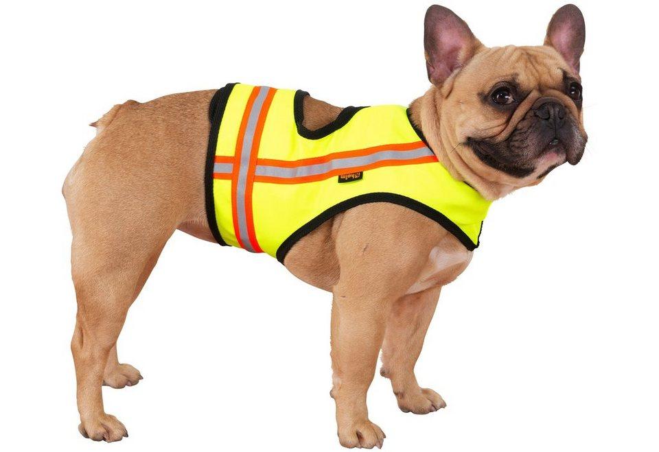 Hundewarnweste in gelb