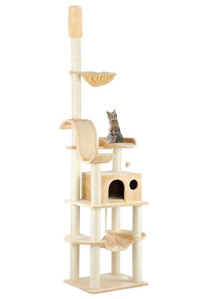 Design Kratzbaum Aus Holz Und Wellpappe: Silvio Design Kratzbaum-Deckenspanner »Holistar«