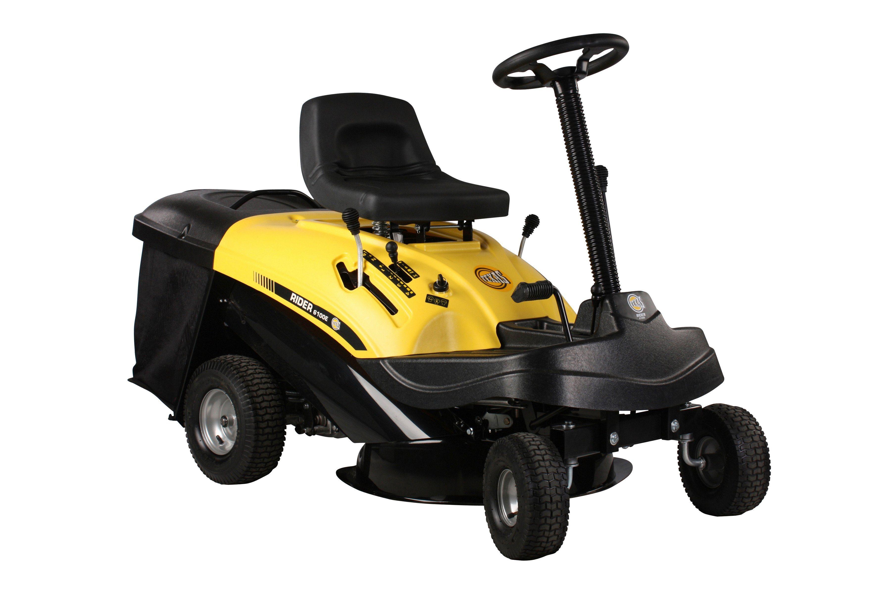 TEXAS Rasentraktor »Rider 6100E«, 61 cm Schnittbreite | Garten > Rasenmäher und Rasentraktoren | Texas