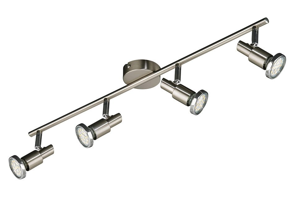 BRILONER LED-Spotleuchte »Cool«, 4-flammig, matt-nickel, 3W