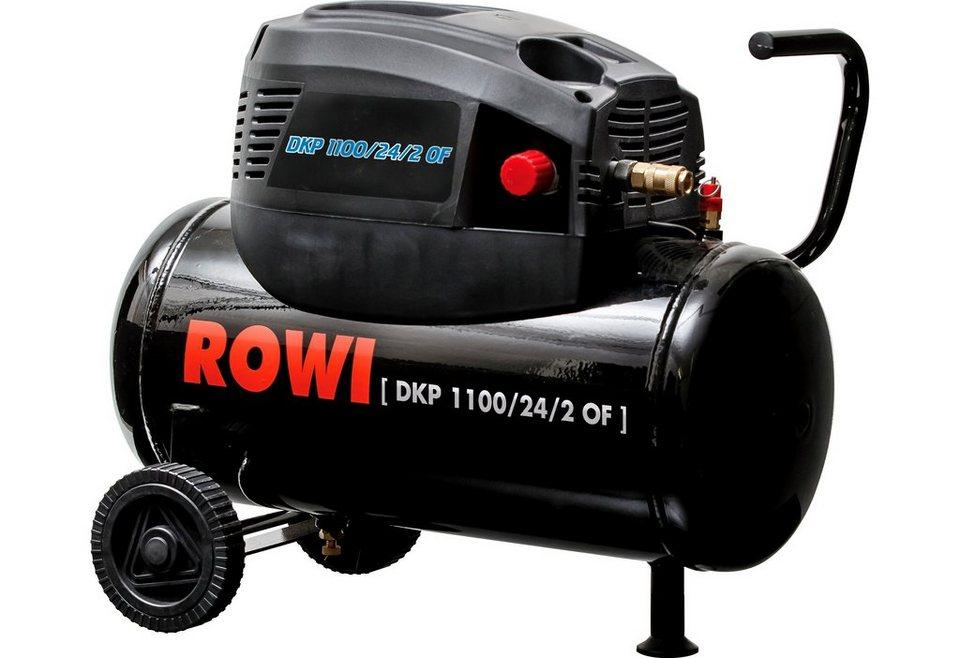 Rowi Kompressor »DKP 1100/24/2 OF« in schwarz