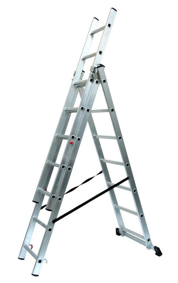 SZ METALL Alu-Schiebeleiter »7 x 3 Sprossen«   Baumarkt > Leitern und Treppen > Schiebeleiter   SZ Metall