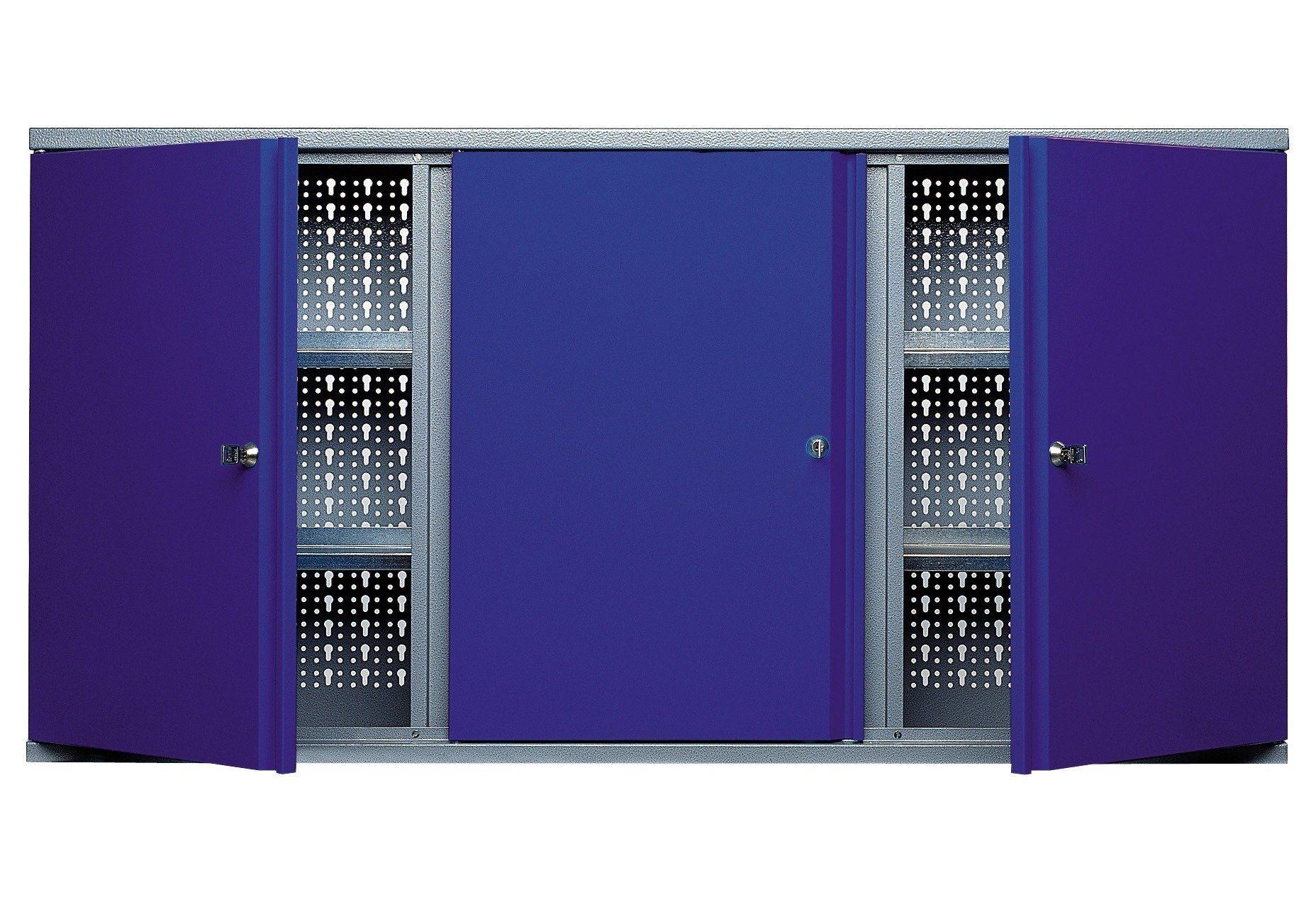 Küpper Hängeschrank »3 Türen, 4 Einlegeböden, in ultramarinblau«