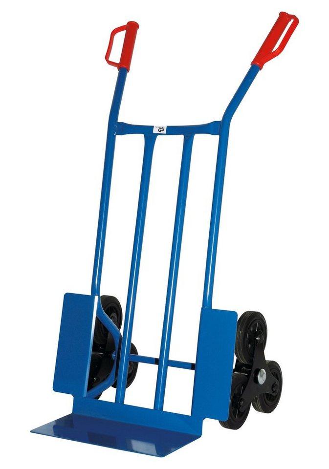 Treppensackkarre »Blau« in blau