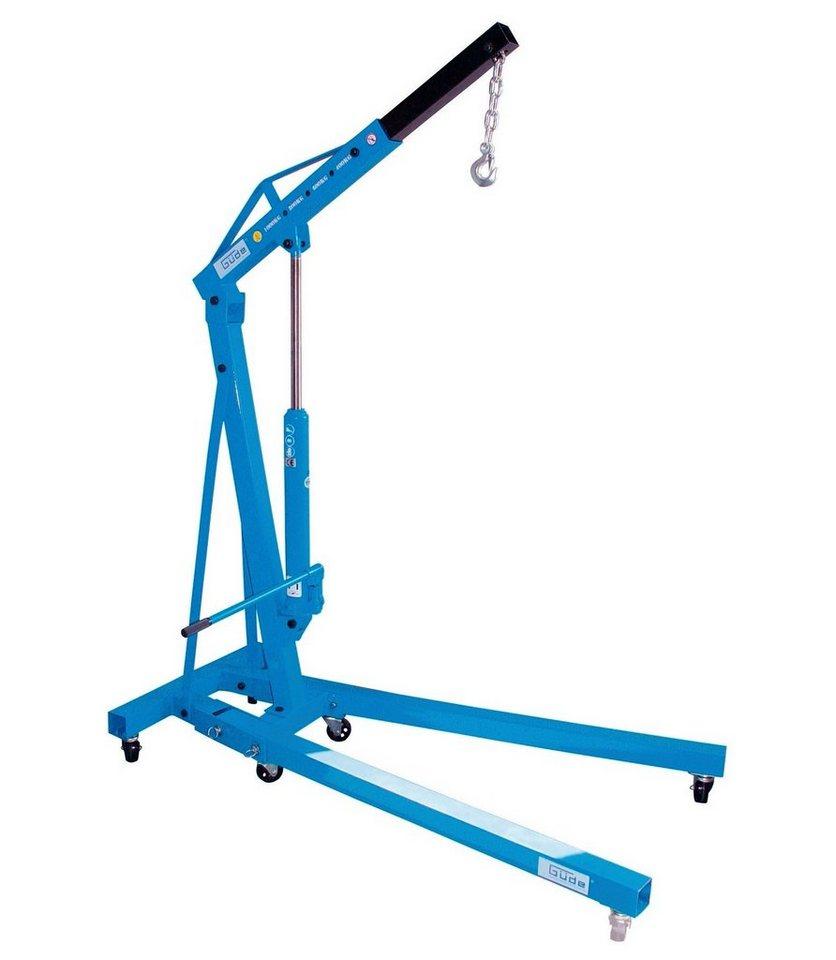 Güde Werkstattkran »GWK 1000« in blau