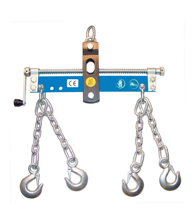 Güde Werkstattkran-Balancer »mit Handkurbel, 4 Ketten mit Sicherheitshaken«