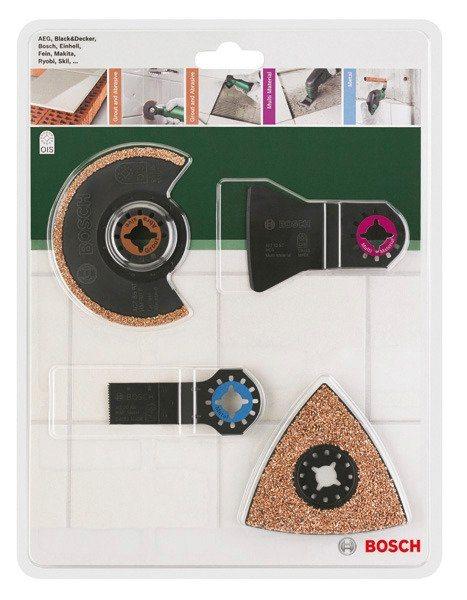 Werkzeug-Zubehör-Set »PMF Fliesen, 4-tlg.« in schwarz