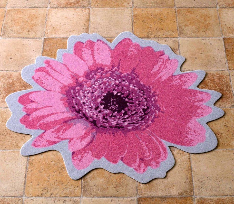 Teppich, Zala Living, »Flower Kontur« in Rosa