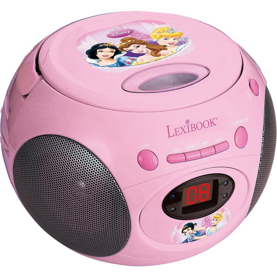 LEXIBOOK Disney Princess CD-Player mit Radio