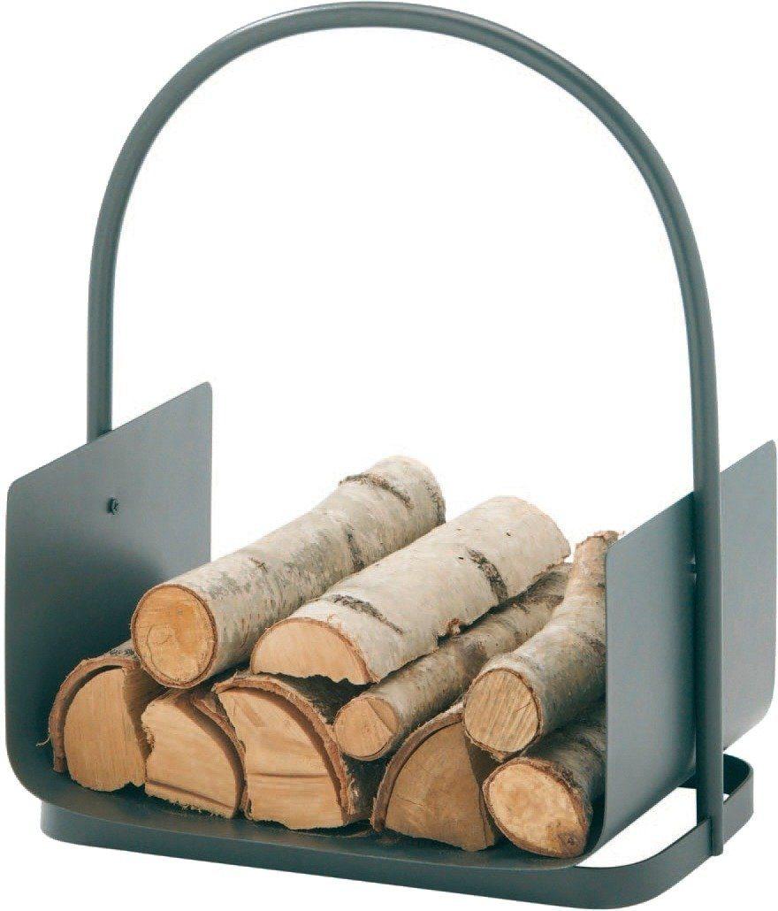 Kaminholztragekorb »Eisen beschichtet«, 40 x 30 x 44,5 cm
