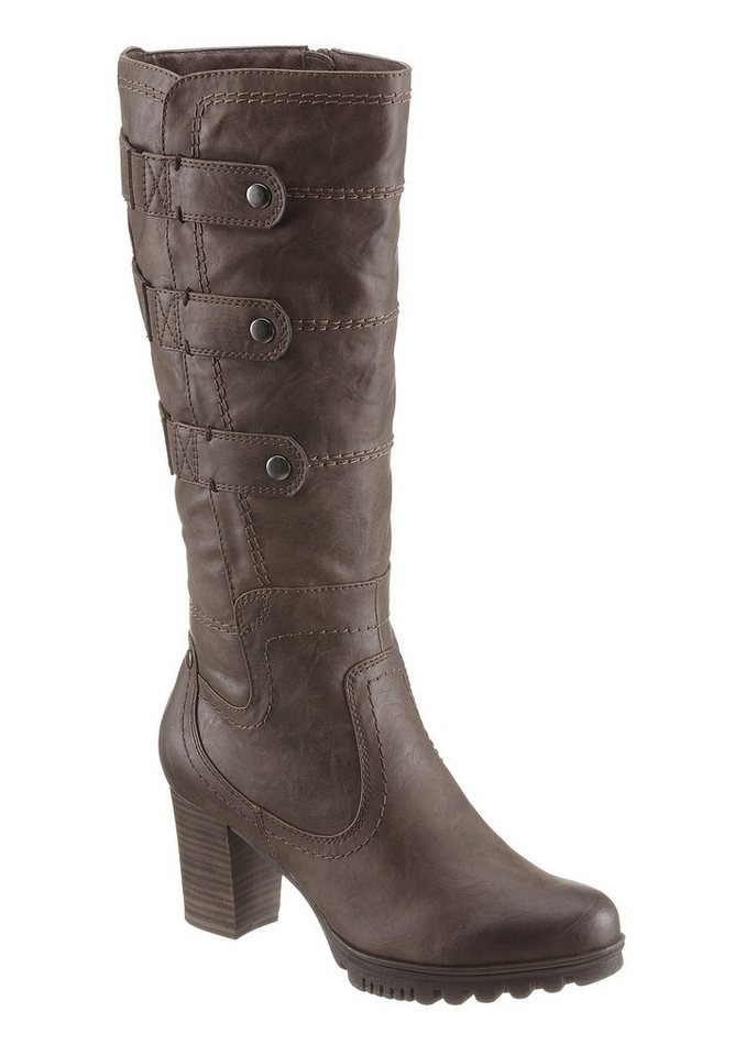 Jana Stiefel in taupe