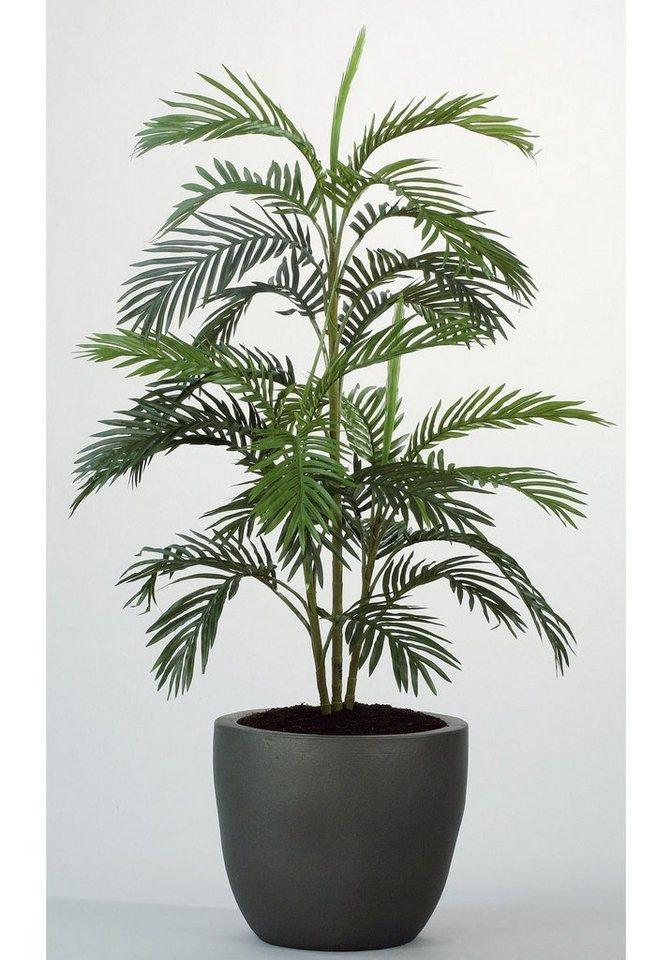 Kunstpflanze »Arecapalme« in grün