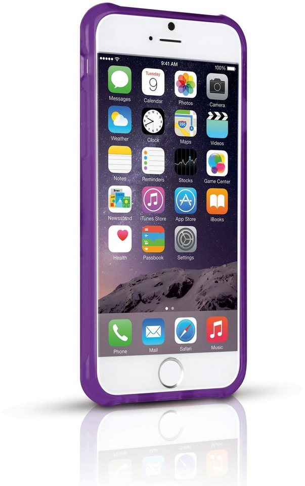 ODOYO Schutzhülle für iPhone 6 (QUAD360) »360° Rundumschutz« in orchid lila