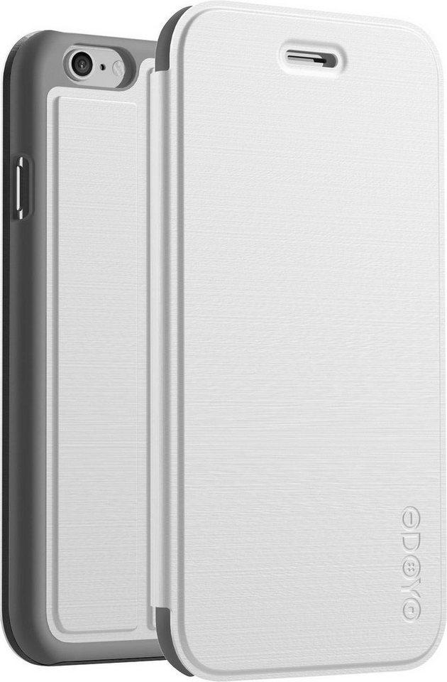 ODOYO Standetui für iPhone 6 Plus (NanoFolio) »ultra dünn und leicht« in weiß