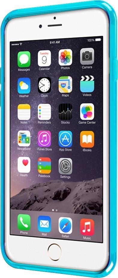 ODOYO Schutzhülle für iPhone 6 Plus (SoftEdge) »Stoßabsorbierende Hülle mit Display-Schutzkante« in blau