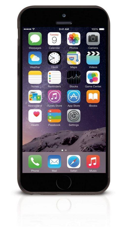 ODOYO Schutzhülle für iPhone 6 Plus (SlimEdge) »Stoßabsorbierende Hülle mit Display-Schutzkante« in schwarz